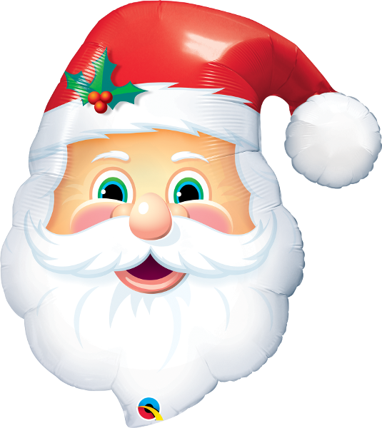 Jolly Santa Head