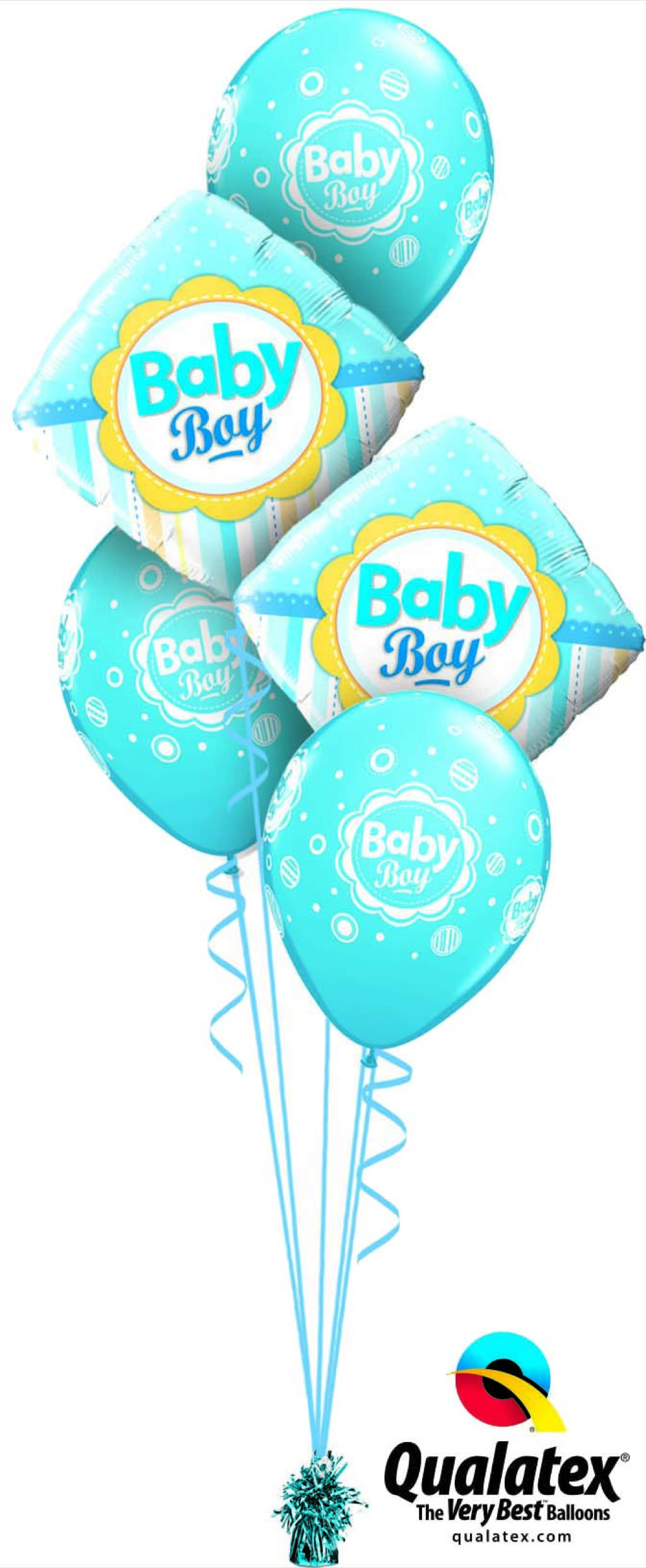 Baby Boy Dots Stripes Classic